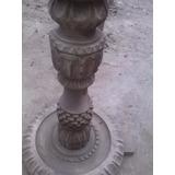 Pedestal De Madera Caoba