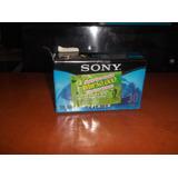 Casete Vhs-c Sellado Marca Sony