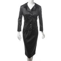 Conjunto Saco Y Vestido Negro Dolce & Gabbana