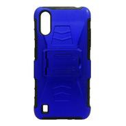Funda Uso Rudo 3 En 1 Colores Samsung A01 Sm-a105