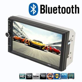 Central Multimídia Universal Lcd 2 Din 7 Bluetooth Usb Fm Sd