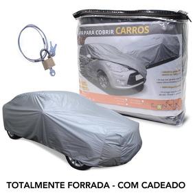 Capa P/ Cobrir Carro Gol Forro/ Cadeado   Caftc1