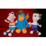 Peluches Phineas Y Ferb Agente Agente Ornitorrinco 34 Cm