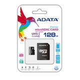 Memoria Adata Micro Sd 128gb Clase 10 (ausdx128guicl10-ra1)
