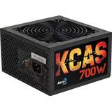 Fuente De Poder Aerocool 700w Kcas- 700w 80 Plus Bronce