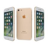 Iphone 7 128gb Dourado Gold A1778 Garantia Pode Retirar