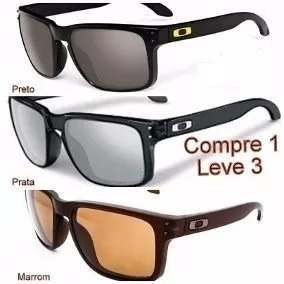 Oculos Uzen De Sol Oakley Holbrook - Óculos no Mercado Livre Brasil df5a3d0738