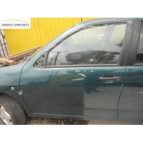 Porta Dianteira Esquerda Seat Cordoba 2001 (só Lata) Nº852