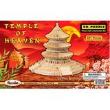 Rompecabezas 3d De Madera Templo Del Cielo 301 Piezas