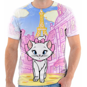 Camisa Camiseta Blusa Animal Gato Disney Marie Tumblr 1