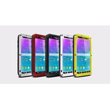 Funda Galaxy S5 Note 4 Note 5 Love Mei Aluminio Gorilla Glas