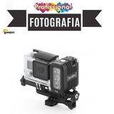 Luminária Para Câmeras De Ação, Digitais Esporte Radical....