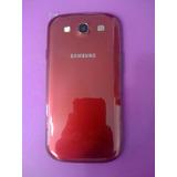 Tapa Trasera Samsung Galaxy S3 I9300 Bordo - Temperley
