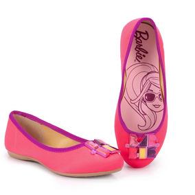 Sapatilha Infantil Grendene Barbie - 23 Ao 34 - Pink