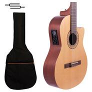 Guitarra Electro Criolla Gracia G10 Eq + Afinador + Funda