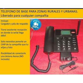 Teléfono De Casa Iusacel Modelo Zona Rural