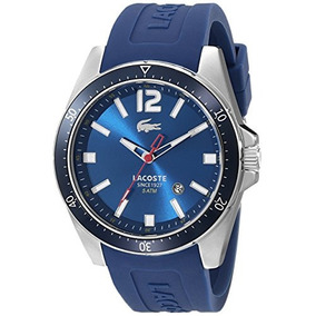 Reloj De Acero Inoxidable 2010665 Seattle Azul Lacoste...