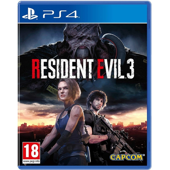 Juego Ps4 Resident Evil 3 Fisico Original Playking