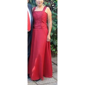 2ee894f77cf Hermoso Vestido Rojo Ideal Fiestas - Vestidos de Mujer en Mercado ...