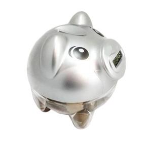 Cofre Digital Porquinho Bancário Contador D Moedas Visor Lcd
