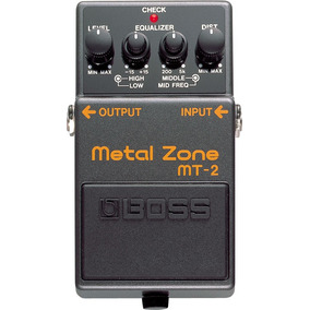 Mt2 Metal Zone Distorsion Boss Roland Efecto Carritos Pedal
