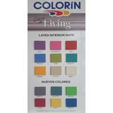 Colorin Living Pintura Jazmin Mate Latex Interior X 4 Lts.