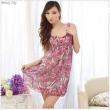 Camison Pijama Coreano Importado Chifon Moda Mujer