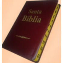 Biblia Reina Valera 1909 Simi Piel Color Marrón C/ Indice