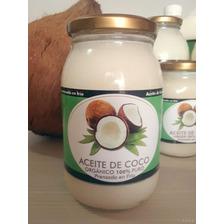 Aceite De Coco Virgen Natural 500ml Prensado En Frio Puro