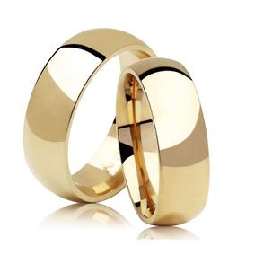 Promoção Par Alianças Ouro 18k Casamento 4mm 4 Gramas