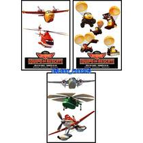Sticker Original De Cine Aviones 2 Cars Poster Calcomanias