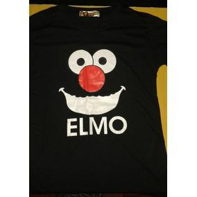 Franelas De Bob Esponja, Elmo Y Perry El Ornitorrinco