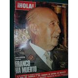 Revista Hola España Numero Especial Muerte General Franco