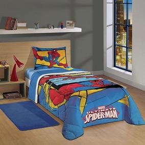 Edredom Homem Aranha Spider Man Ultimate Lepper Solteiro