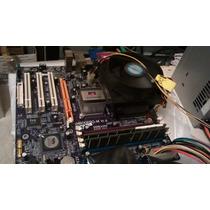 Placa Mae Ecs P4m800pro-m V1.0 Socket 775 ** Completa **#19