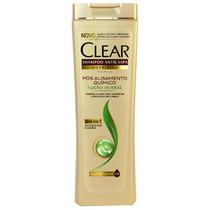 Shampoo Clear Fusão Herbal Pós Alisamento Químico 200 Ml