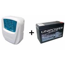 Kit Central Alarme Cls1000 Sulton 10s C/ Discador + Bateria