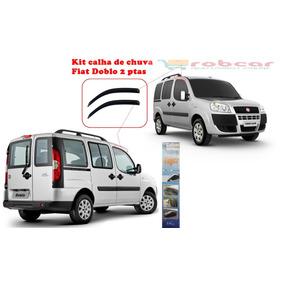 Calha Defletor Chuva Fiat Doblo De 2001 A 2014