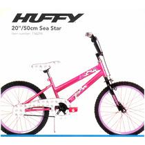 Bicicleta Huffy Sea Star Rodada 20 Pulgadas Niña 5 + Años
