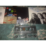 Cassette Crosby Stills Nash - Live It Up 1990 Rock