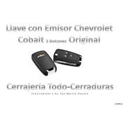 Llave Chevrolet Cobalt Original No Incluye Programación
