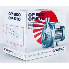 Bomba Agua Centrifuga 1/2 Hp . 127v Pedrollo Mod. Cpm610