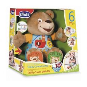 Urso Teddy Pelucia Conta Comigo Melodias Fala Canta- Chicco