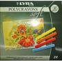 Para Mama Pastel A La Tiza Lyra Polycrayons 24 Colores