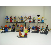 Scooby Doo Salsicha Drácula Fantasma = Lego 13 Bonecos