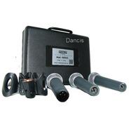 Set 3 Micrófonos Dinamicos Moon M59 + Valija Y Pipeta Dancis