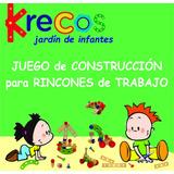 Juego De Construcción Rincón De Trabajo Jardín De Infantes