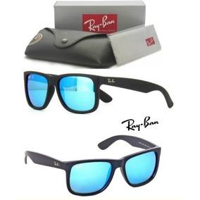 Ray Ban Justin Marron Espelhado De Sol - Óculos no Mercado Livre Brasil 4b3f3a9a02