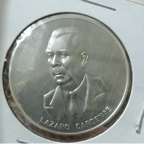 Medalla De Plata Lazaro Cardenas Escasa