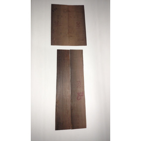 Kit N1 Luthier Faixas E Fundo Jacarandá Cavaco